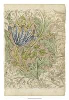 Floral Pattern Study III Fine Art Print