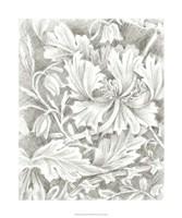 "Floral Pattern Sketch I by Ethan Harper - 20"" x 24"", FulcrumGallery.com brand"