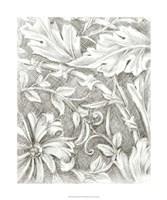 "Floral Pattern Sketch IV by Ethan Harper - 20"" x 24"", FulcrumGallery.com brand"