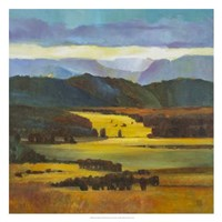 "Mountain Light by Judith D'agostino - 26"" x 26"""