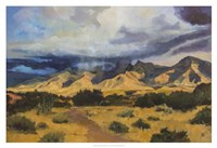 "Desert Mountain Light by Judith D'agostino - 38"" x 26"""