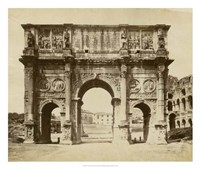 The Arch of Constantine Fine Art Print