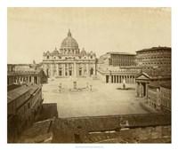 St. Peter's Square Fine Art Print