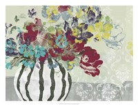 "Spray of Flowers I by Jennifer Goldberger - 26"" x 20"""