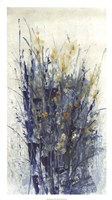 Indigo Floral II Fine Art Print
