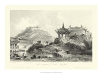 Scenes in China II Fine Art Print