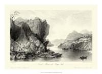 Scenes in China III Framed Print