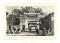 Scenes in China V Framed Print