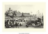 Scenes in China VII Framed Print