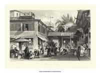 Scenes in China VIII Framed Print