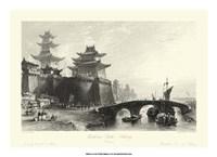 Scenes in China IX Framed Print