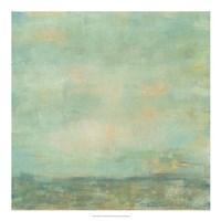 Mint Sky I Fine Art Print