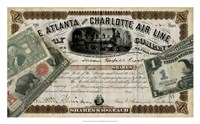 """Antique Stock Certificate IV by Vision Studio - 29"""" x 18"""""""