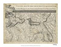 "Map of London Grid III - 18"" x 14"""