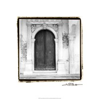 "Venetian Doorways II by Laura Denardo - 18"" x 18"""