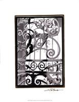 "Wrought Iron Elegance II by Laura Denardo - 16"" x 21"""