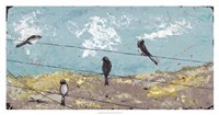 """Highwire Act by Jade Reynolds - 38"""" x 20"""""""