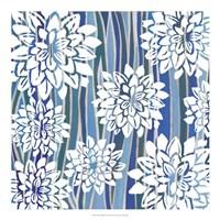 "Striped Dahlias I by Grace Popp - 20"" x 20"""