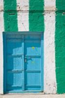 Oman, Sharqiya Region, Asaylah. Coffee Shop Exterior Fine Art Print