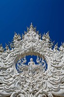 The new all white temple of Wat Rong Khun in Tambon Pa O Don Chai designed by Chalermchai Kositpipat. by Adam Jones - various sizes
