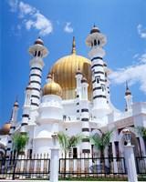 Malaysia, Peninsular Malaysia, Perak, Kuala Kangsar, Ubudiah Mosque Fine Art Print