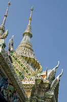 Roof detail, Grand Palace, Bangkok, Thailand by Cindy Miller Hopkins - various sizes