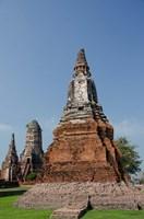 Wat Chaiwatthanaram Buddhist monastery, Chedi and Prang temples, Bangkok, Thailand by Cindy Miller Hopkins - various sizes