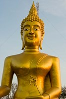 Wat Phra Yai, Buddha of Chonburi, Pattaya, Thailand Fine Art Print
