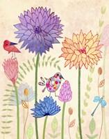All-A-Flutter II Fine Art Print