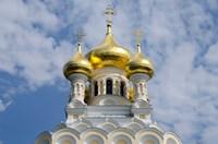 Saint Alexander Nevsky Cathedral, Yalta, Ukraine by Cindy Miller Hopkins - various sizes