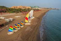 Sailboats on the Beach, Belek, Antalya, Turkey by Ali Kabas - various sizes