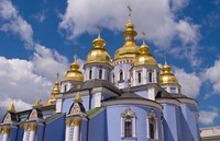 St Michaels Cathedral, Kiev, Ukraine Fine Art Print