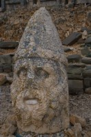 Head Statues, Mount Nemrut, Turkey Fine Art Print