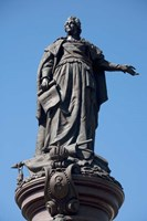Statue of Catherine the Great, Odessa, Ukraine Fine Art Print
