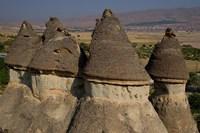 Ash and Basalt Formations, Cappadoccia, Turkey by Darrell Gulin - various sizes