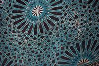 Ceiling Tile, Mevlana Museum, Konya, Turkey Fine Art Print