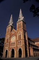 Notre Dame Cathedral, Saigon, Vietnam Fine Art Print