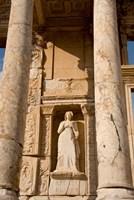 Turkey, Kusadasi, Ephesus, Celsus Library statue detail by Cindy Miller Hopkins - various sizes