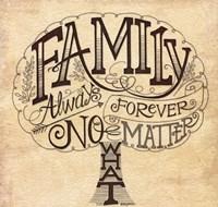 Family - Always and Forever Fine Art Print