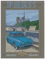 Paris 1963, Dauphine Fine Art Print