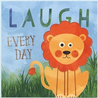 Laugh Every Day Fine Art Print