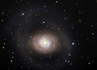 Messier 94, A Spiral Galaxy in the Constellation Canes Venatici Fine Art Print