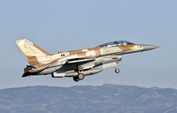 Israeli Air Force F-16I Sufa Fine Art Print