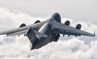 C-17 Globemaster Above the Clouds Fine Art Print