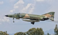F-4 Phantom of the Hellenic Air Force by Giovanni Colla - various sizes, FulcrumGallery.com brand