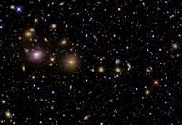 The Perseus Galaxy Cluster Fine Art Print