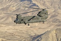 Italian Army CH-47C Chinook Helicopter Over Afghanistan by Giovanni Colla - various sizes