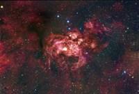 Emission Nebula Located in the Constellation Scorpius (NGC 6357) Fine Art Print