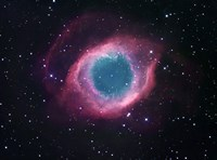 The Helix Nebula Fine Art Print