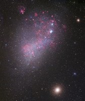 Small Magellanic Cloud (close up) Fine Art Print